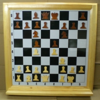 доска шахматная демонстрационная