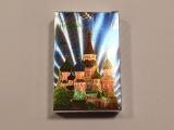 Карты игральные сувенирные храм серебро