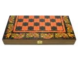 Шахматы 3 в 1 Хохлома