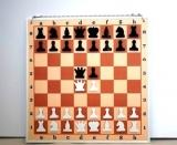 Шахматы Демонстрационные цельные 80х80