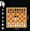 Шахматы Демонстрационные цельные 100х100