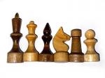 Шахматные фигуры Обиходные лак в пакете П