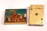 Карты игральные подарочные RUSSIA gold