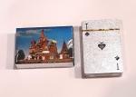 Карты игральные подарочные RUSSIA silver