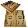 шахматы смешанные бук тонированные