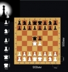Шахматы Демонстрационные цельные 90х90