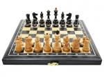 Шахматы Престиж Черный принц 40