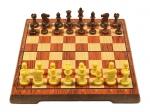 шахматы магнитные Люкс средние