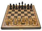 Шахматы венге дуб 40 Классические 5 утяжелённые