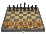 Шахматы Черные золото Классические 5
