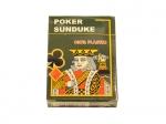Карты игральные Poker Sunduke