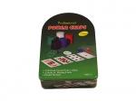 Покерный набор на 120 фишек в жестяном боксе