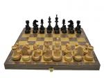 Шахматы Гроссмейстерские венге золото