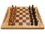 Шахматы, нарды, шашки 3в1 дуб средние