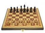 Шахматы 3 в 1 дуб 45