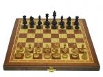 Шахматы  3 в 1 махагон 45