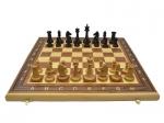 Шахматы Гамбит 3 в 1 махагон утяжелённые
