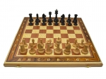 Шахматы Гамбит 3 в 1 орех