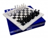 шахматы Белый Мрамор + Черный Мрамор 40