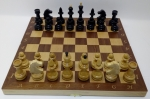 шахматы маркетри 42 махагон
