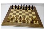 шахматы маркетри 60 темные