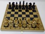 шахматы Гроссмейстерские бук шпон тон.