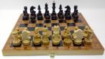 шахматы Гроссмейстерские бук тонированные мдф