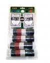 Покерный набор на 200 фишек с номиналом в блистере
