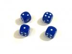кости игральные синие