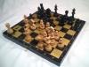 шахматы 3 в 1 Черные золото