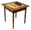 Стол шахматный тонированный с ящиком