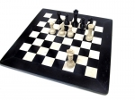 шахматы Мрамор черный-Мрамор розовый