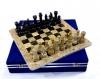 шахматы Яшма+Мрамор черный 30