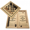шахматы смешанные бук  средние