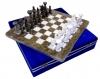 шахматы Яшма+Мрамор белый Люкс 30