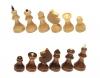 шахматные фигуры обиходые лак в пакете