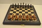 Шахматы Романтик Черный принц 45