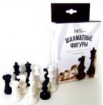 Фигуры шахматные обиходные пластиковые в коробке