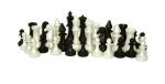 Фигуры шахматные гроссмейстерские пластиковые в пакете